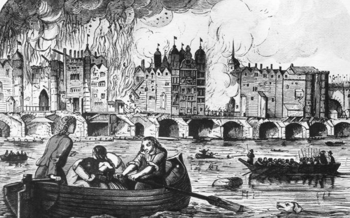 Great Fire of London buildings