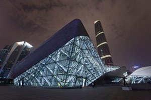 Guangzhou Opera house, China.
