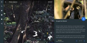 jane goodall google earth
